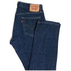 LEVI'S 514 Slim Straight Jeans Size W34 #00369